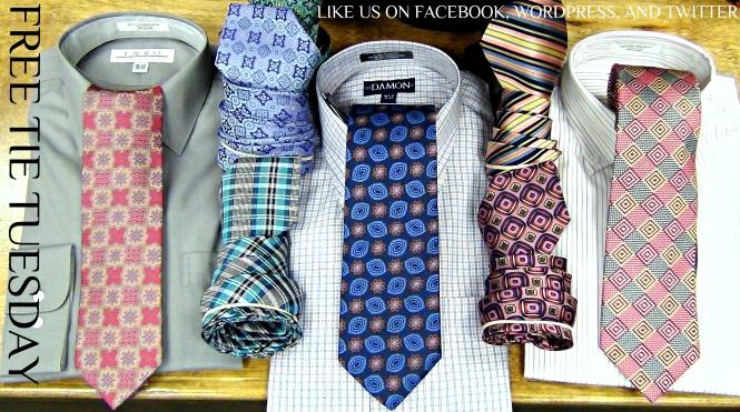 Free Tie Tuesday