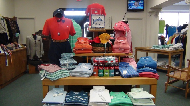 New Southern Tide Arrivals at Joe Sugars of St. Pauls
